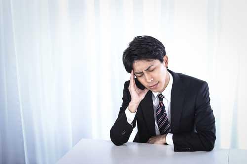 やる気が出ない原因2|慢性的なストレス