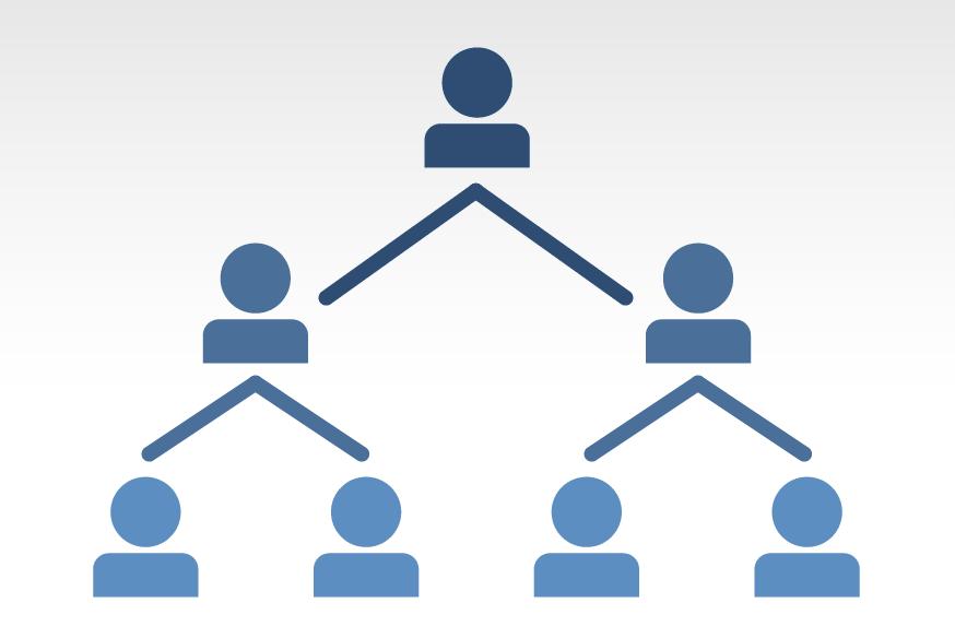 ネットビジネスはピラミッドのような構造になっています